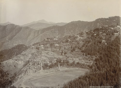 Race Course and Annandale Garden [Shimla]